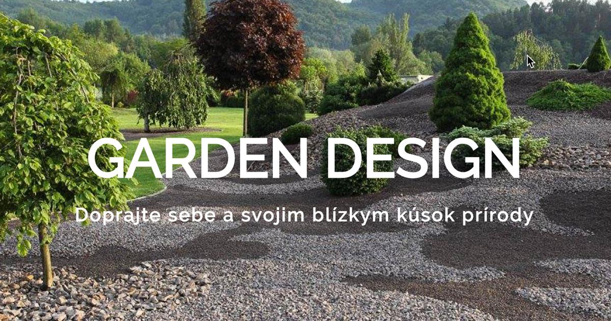 Domov garden design for The garden design sk